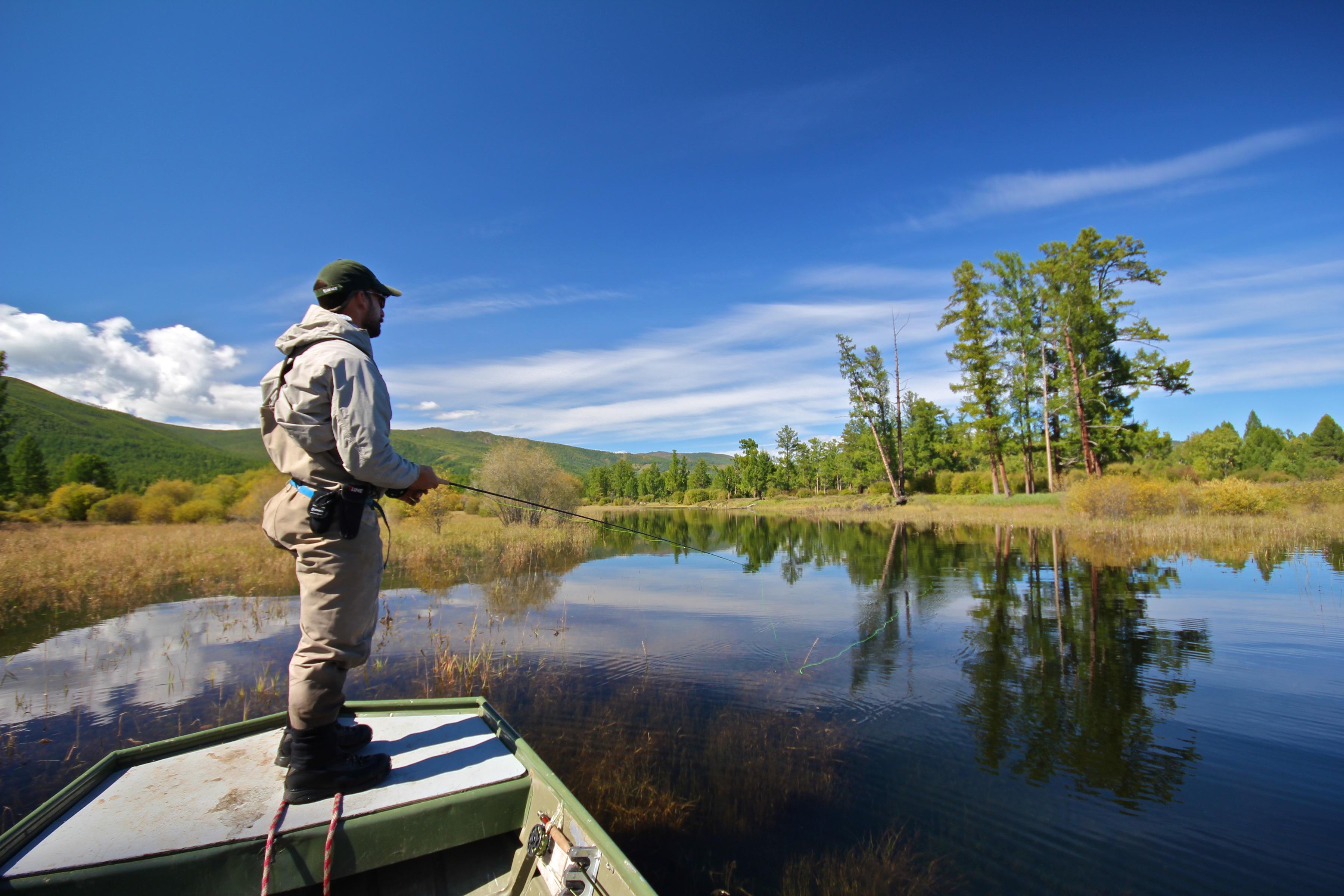 Monday Word Mongolia Taimen Fishin...